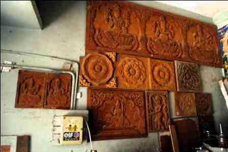Woodwork Designs For Pooja Room Medieval Furniture Pictures Pdf